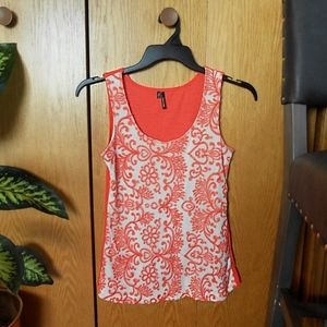 Maurices Floral Embroidered Tank Top